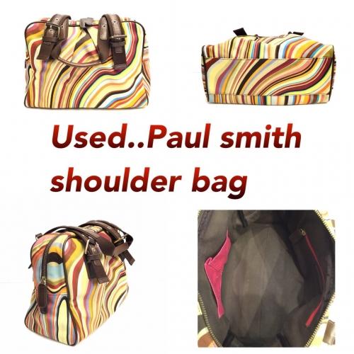 Paul Smith Shoulder bag ลาย Swirl
