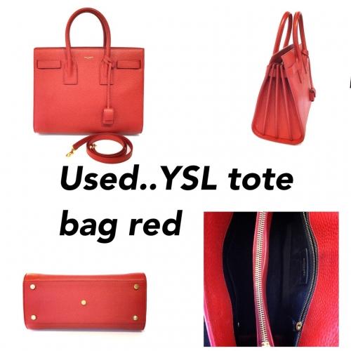 YSL Tote bag Red