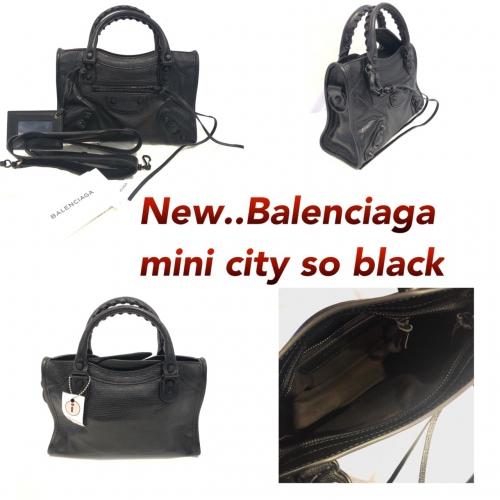 Balenciaga Mini city Soblack