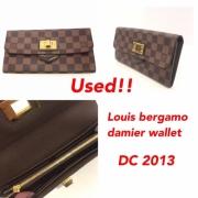 Louis Bergamo Damier Wallet