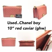 Chanel Boy 10