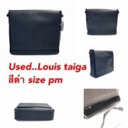 Used Louis taiga สีดำ Size pm